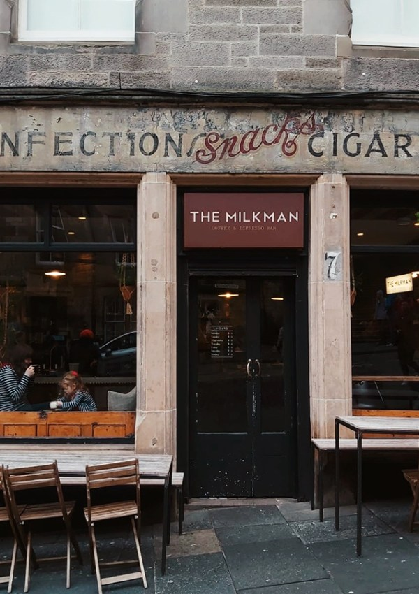 Tea Shop Journals | The Milkman, Edinburgh