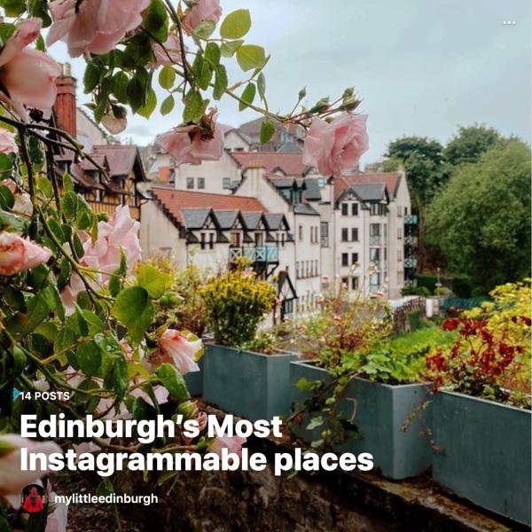 best spots in Edinburgh, Edinburgh instagram spots, instagrammable spots in Edinburgh, travel in Scotland, Scotland travel, Scotland is open, post covid travel, instagram guides, instagram, outlander, Harry Potter guide, kids days out in Edinburgh