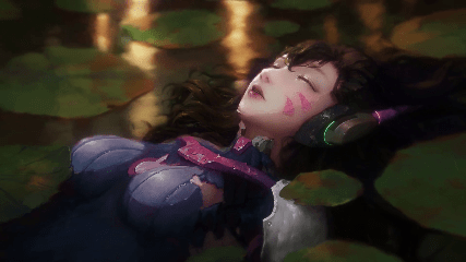 Animated Watch Wallpaper For Mobile Dva Floats Overwatch Animated Wallpaper