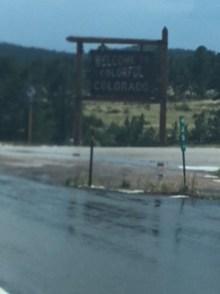 Colorado Sign