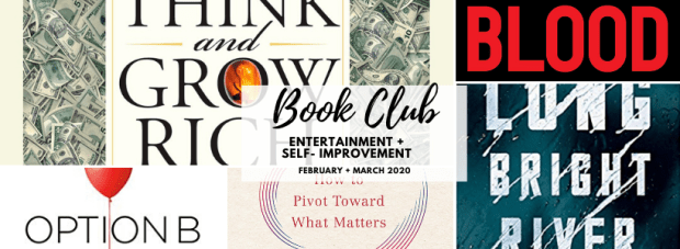 FEB MAR 2020 Book Club
