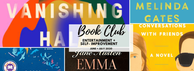June July 2020 Book Club