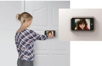 best colour electronic door viewer ηλεκτρονικό ματάκι πόρτας καλύτερο Loft mylofteu
