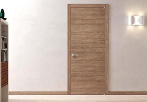 Material Tabacco 2 engraved minimal door εσωτερική πόρτα Loft mylofteu