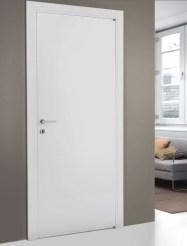 PTM9 Door White Λευκή πόρτα κρυφό μεντεσέ Loft mylofteu