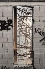 grey crystal door γκρι κρυστάλλινη πόρτα Loft mylofteu