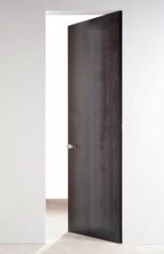 Grey oxidised no frame door γκρι μεταλλικό οξειδωμένο χωρίς κάσα πόρτα Loft mylofteu