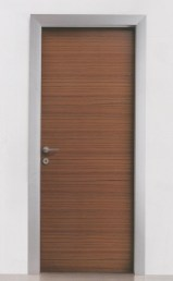 door wooden leaf aluminum frame 004a πόρτα ξύλινο φύλλο κάσα αλουμινίου Loft mylofteu