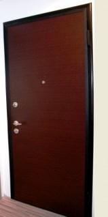 wenge door from showroom πόρτα ασφαλείας 2014 Loft mylofteu
