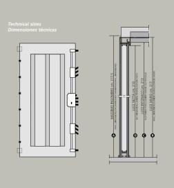 Πόρτα Ασφαλείας LOFT Κλάσης 4 Classe 4 designs details 2014 Loft mylofteu
