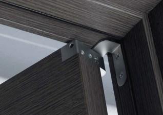 Material Grigio doors εσωτερικές πόρτες LOFT mylofteu 2015