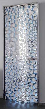 Single opening Hybrid 1 crystal door κρυστάλλινες πόρτες LOFT mylofteu