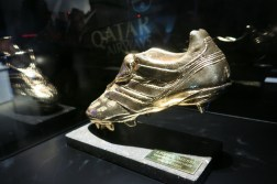 and also his golden shoe