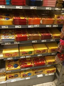 Supermarket shopping (: