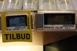 electronic price tag