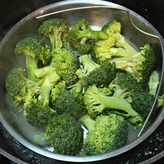 Broccoli ready to steam
