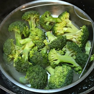 Broccoli ready to steam