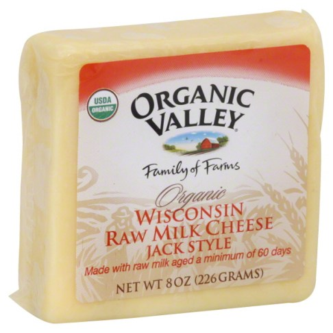 organic valley raw milk cheese grassmilk