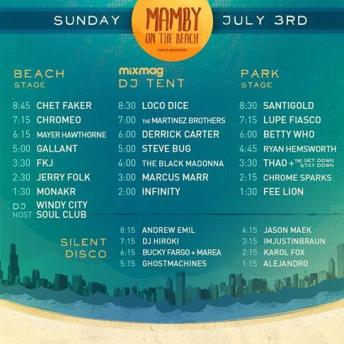 Mammy Schedule