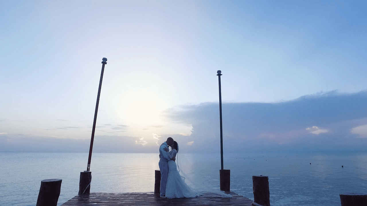 Lena & James married at Occidental Grand Cozumel Resort - Wedding Film