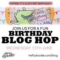 Heffy Doodle's 1st Birthday Celebration Blog Hop