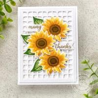 Sunny Studio Stamps Sunflower Fields