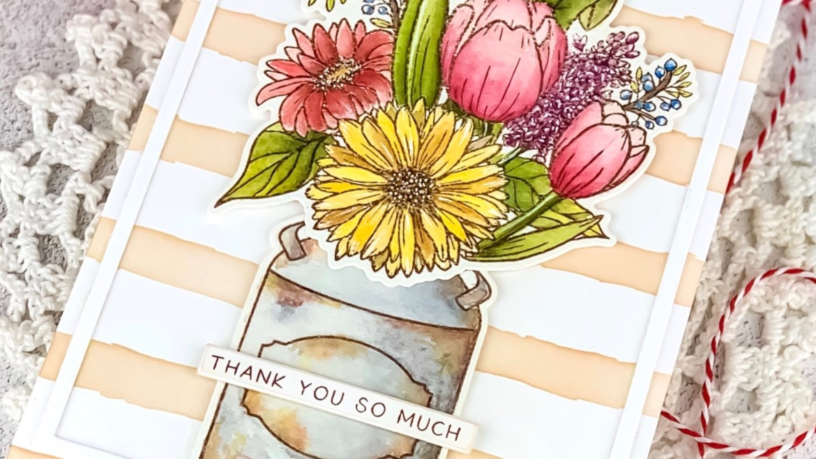 Honey Bee Stamps Farm Fresh Flowers My Love For Paper