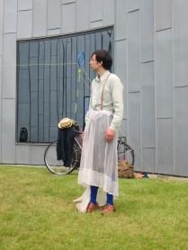 A net skirt