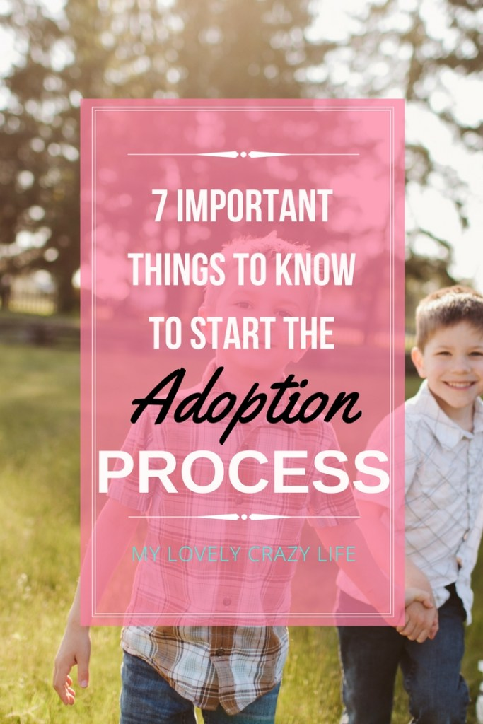 important things to know adoption process