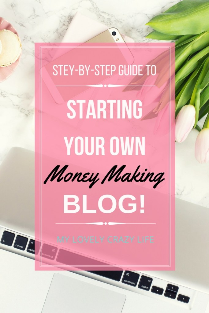 starting a money making blog