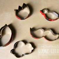{DIY} Homemade cookie cutters