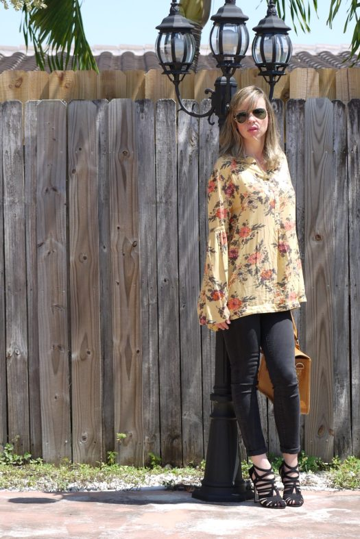 strappy sandal, mix tunic by mylovelypeople