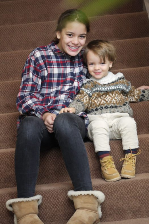 Alba Marina Otero fashion blogger from Mylovelypeople blog shares with you how to dress a toddler for cold temperatures.