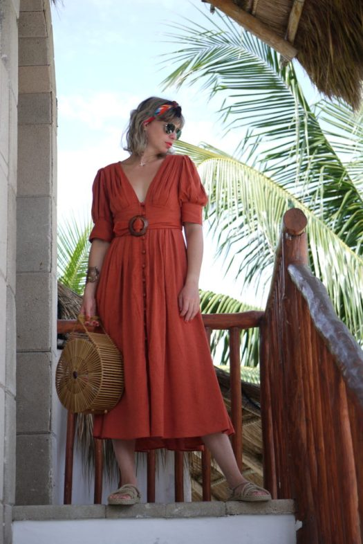Alba Marina Otero fashion blogger from Mylovelypeople blog shares with you the item she'd been wearing all summer long. Dresses are the best choice no matter where you're going and you can wear them even for fall season too.