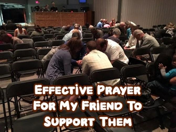 Prayer For My Friend