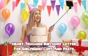 Birthday Letter For Girlfriend