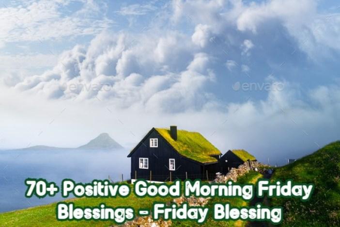Good Morning Friday Blessing