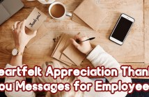 Thank You Messages for Employees