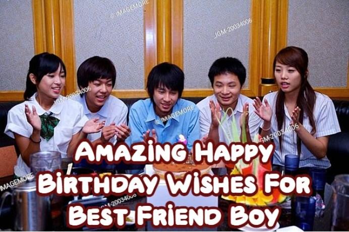 Birthday Wishes For Best Friend Boy