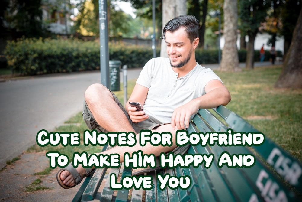 Cute Notes For Boyfriend