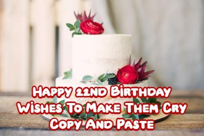 Happy 22nd Birthday