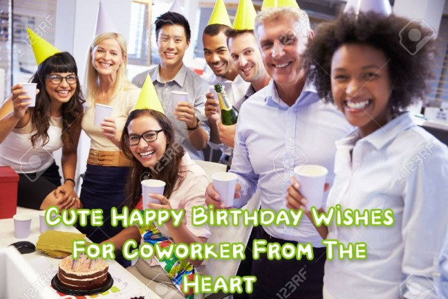Happy Birthday Wishes For Co-worker