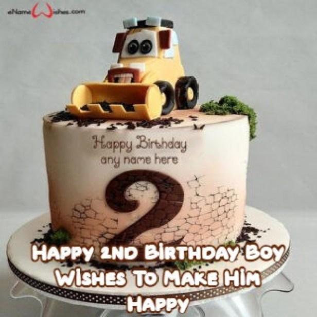 Happy 2nd Birthday Boy Wishes