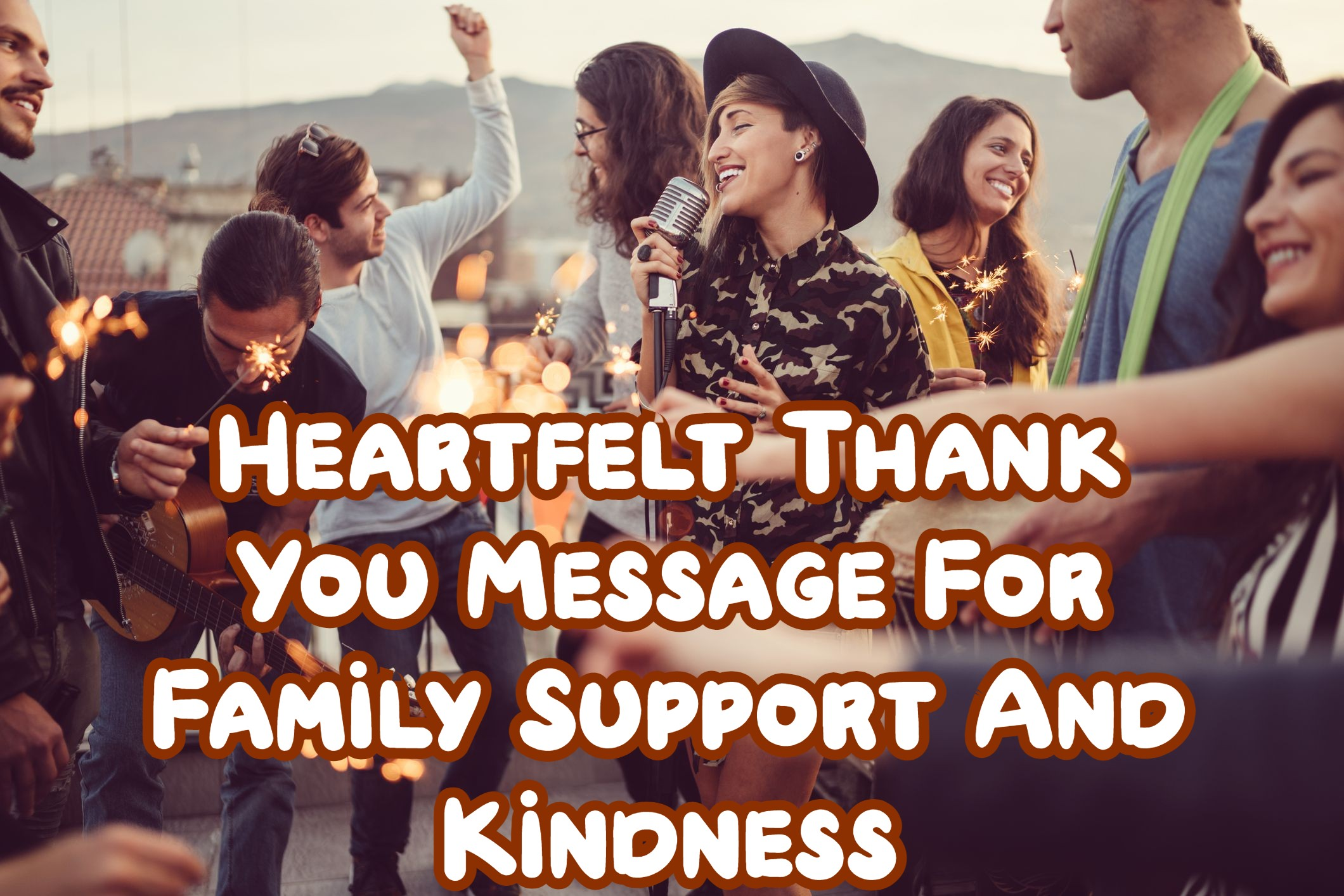 Thank You Message For Family