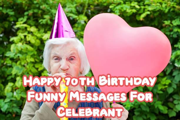 Happy 70th Birthday Funny
