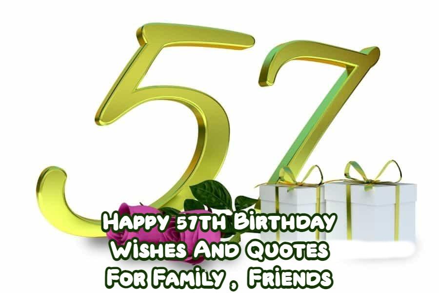 Happy 57th Birthday