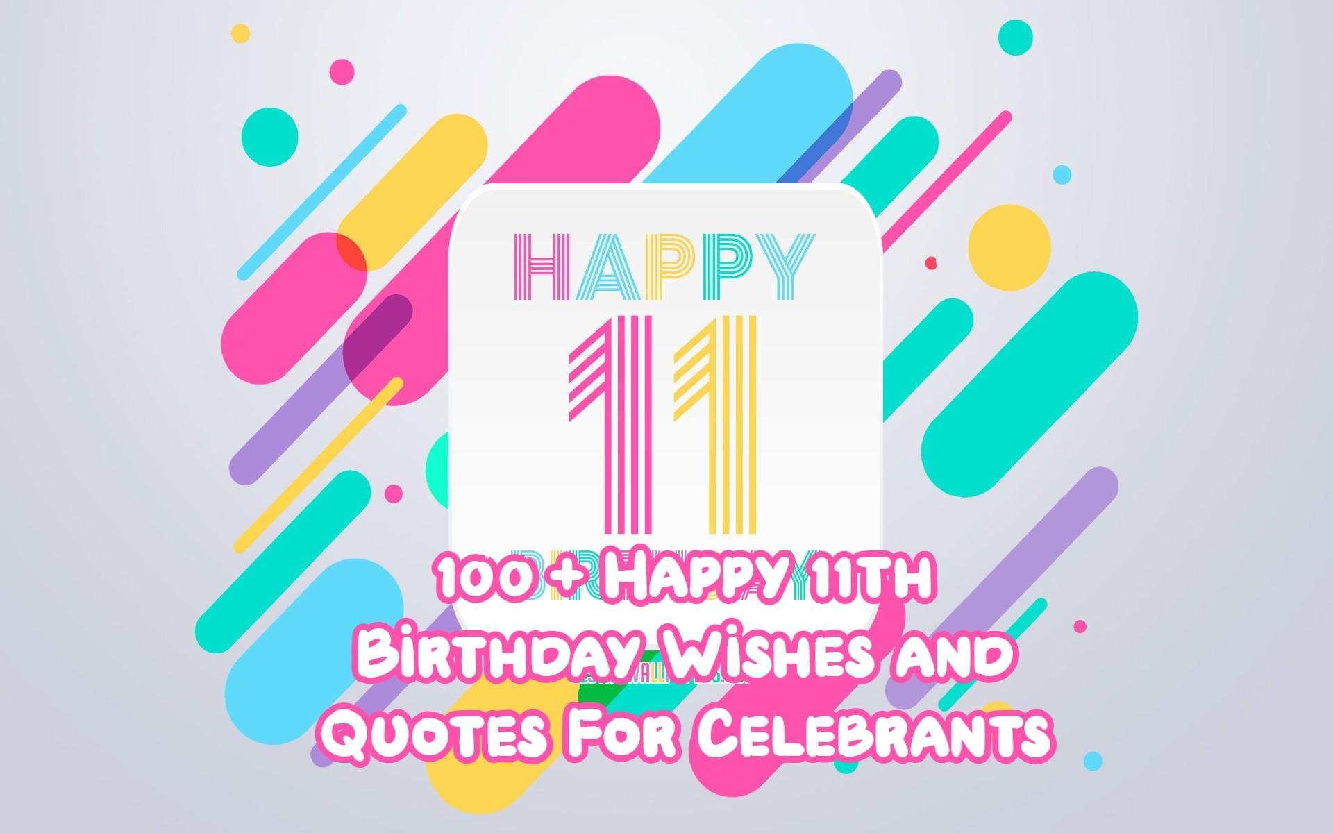Happy 11th Birthday