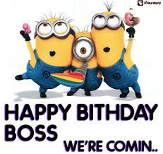 Happy Birthday Meme Funny for Boss With Quotes