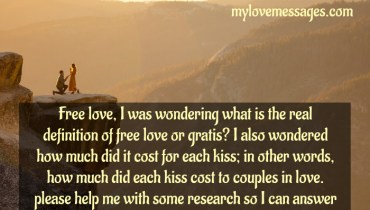 What Is Free Love? Find Answers