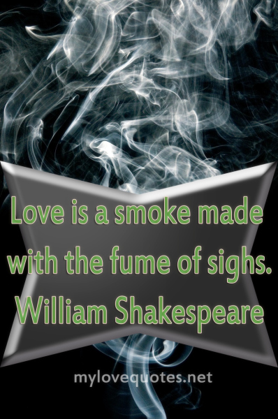 love is a smoke